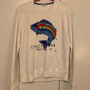 "Kenzo Paris ""No Fish No Nothing"" collab sweatshirt"